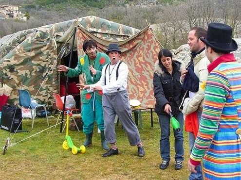Clown in corsia: missione abruzzo!!!