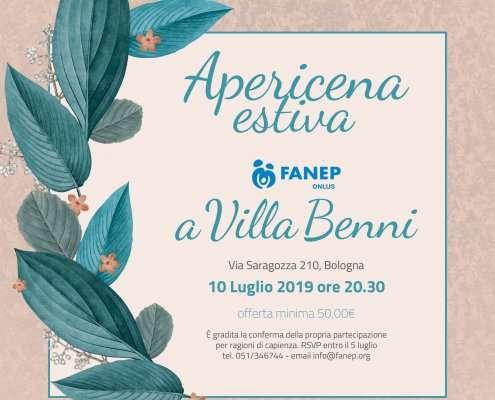 Apericena Estiva a Villa Benni