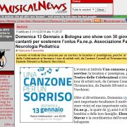 MusicalNews.com Racconta una Canzone per un Sorriso