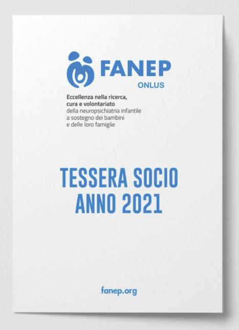FANEP - Tessera associativa 2021